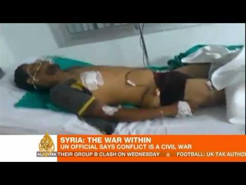 UN official calls Syria conflict 'civil war'