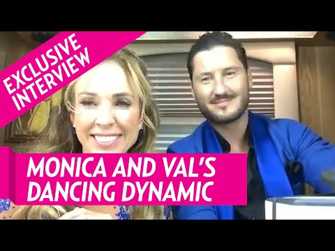 Monica Aldama and Val Chmerkovskiy Talk Frustrations With Each Other After Night One of 'DWTS'