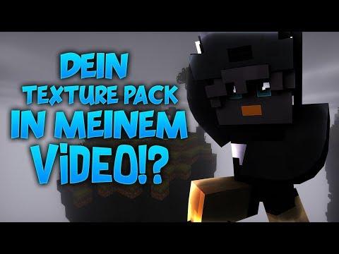 DEIN Texture Pack in MEINEM Video?!?! - Top 3 Zuschauer Bedwars Texture Packs!!!