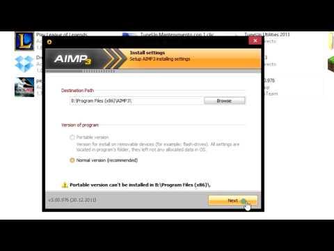 Descargar e instalar AIMP3 HD