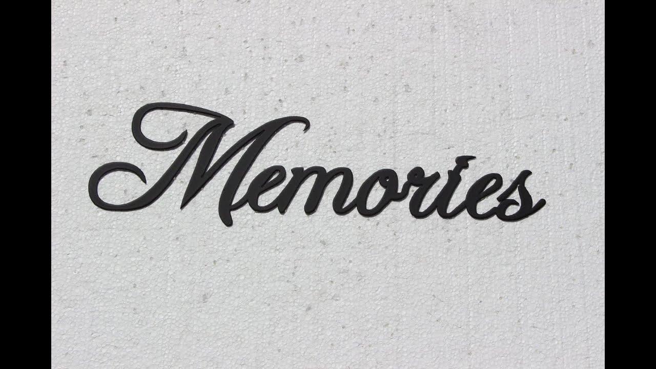 Картинка с надписью мемори, женской