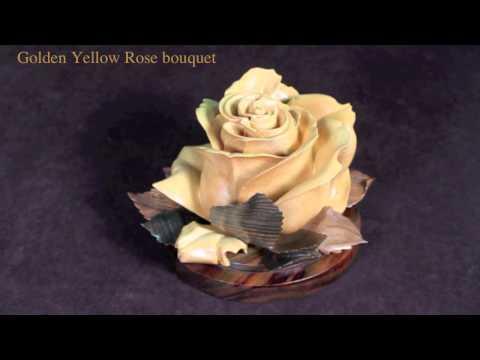Golden Yellow Rose Bouquet