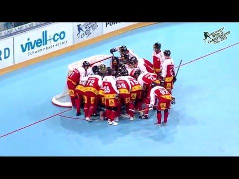 Switzerland vs Canada 2015 World Ball Hockey Championships June 21 2015 in Zug, Switzerland