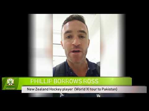 PHILLIP BORROWS ROSS World XI Hockey tour to Pakistan