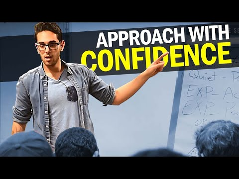 [PRIVATE TALK] The 4 Steps to Increase Confidence to Approach | Psychology of Confidence & Tribalism
