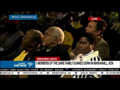 Kgalema Motlanthe addresses uMkhonto weSizwe veterans conference