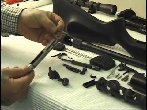 CZ 452  22 Rimfire Rifle Stripdown and Rebuild Tutorial