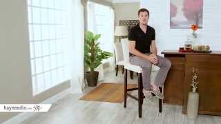 Palazzo Extra Tall Barstool - Light Beige - Set Of 2 - Product Review Video