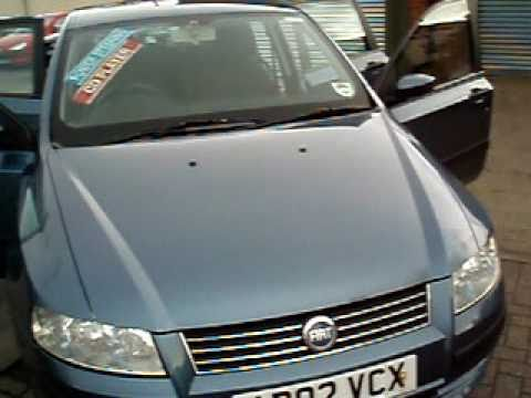 wirral small cars 2002 fiat stilo 1 2 active 5dr youtube. Black Bedroom Furniture Sets. Home Design Ideas