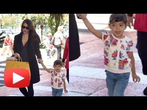 Cannes 2014 - Watch Aishwarya Rai With Baby Aaradhya Bachchan
