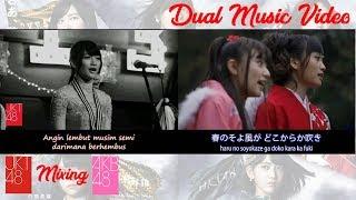 JKT48 AKB48 Pembatas Buku Sakura Sakura no Shiori 桜の栞 Lyrics