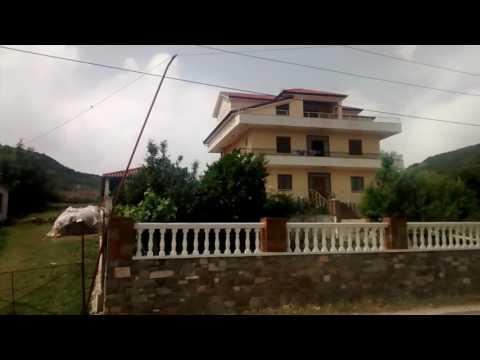 Albanian train trip from Rrogozhinë to Elbasan