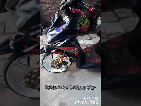 Modifikasi Honda Beat Babylook Style Youtube