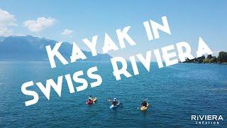 Kayak sur la Riviera Vaudoise