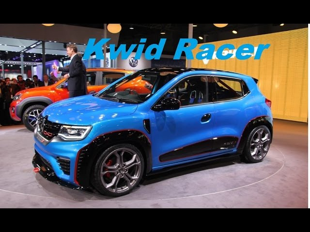 Renault Kwid RACER Auto expo 2016