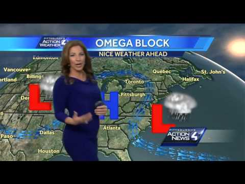 Pittsburgh's Action Weather noon forecast by WTAE-TV Pittsburgh