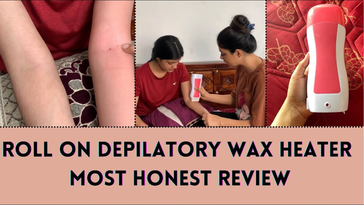 Roll on wax honest review with application | Yashi Tank| Suyash Fashion