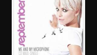 September - Me And My Microphone (Radio Edit)
