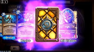 WANTED! and Pick Pocket - The Witchwood Hearthstone epic and rare card pack opening