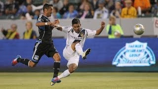 HIGHLIGHTS: LA Galaxy vs. San Jose Earthquakes, May 23, 2012
