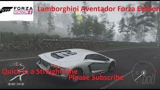 Forza Horizon 4-Lamborghini Aventador Forza Edition Gameplay