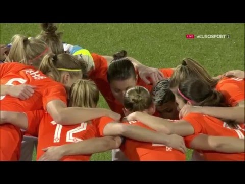 Olympic qualifiers. UEFA. Women. Netherlands - Sweden (09/03/2016)