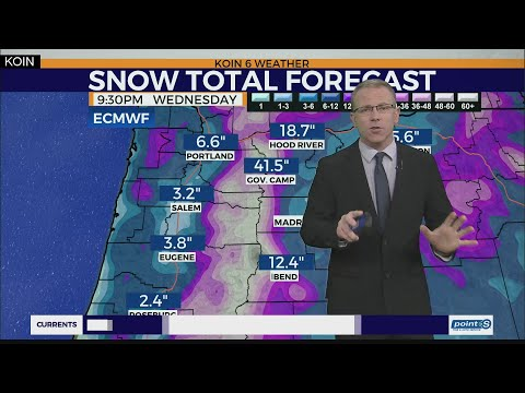 KOIN 6 Weather Forecast
