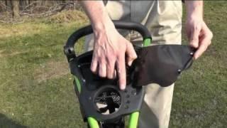 ez tro deluxe 3 wheel push golf trolley