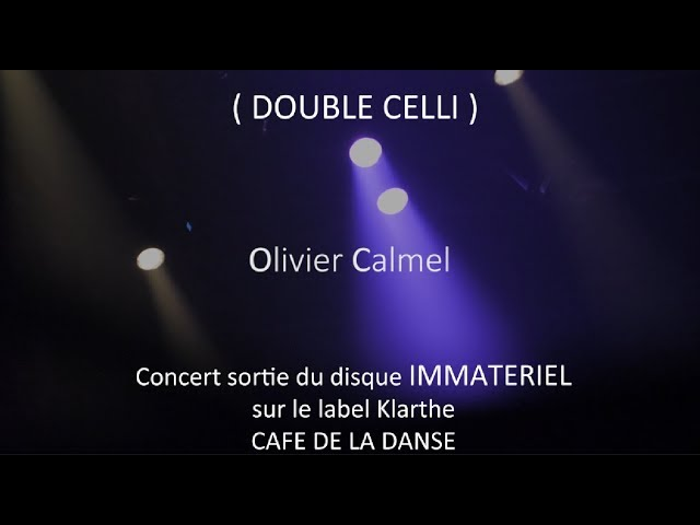DOUBLE CELLI @ LIVE CAFE DE LA DANSE