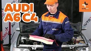 Aloittelijan video-opas yleisimpiin Audi A6 4f2 -autojen korjauksiin