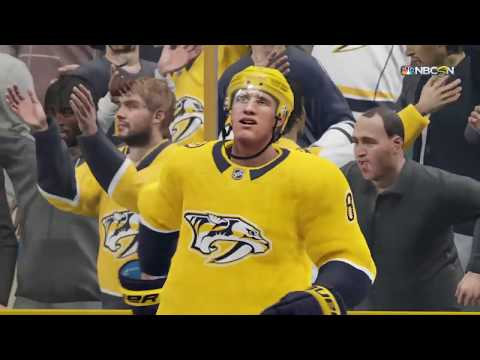 NHL 19 - Calgary Flames Vs Nashville Predators Shootout