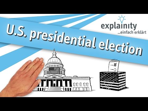 U.S. presidential election 2016/17 easily explained (explainity® explainer video)