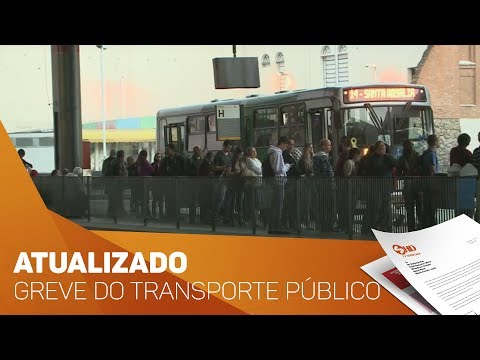 Atualizado Greve no transporte público de Sorocaba - TV SOROCABA/SBT