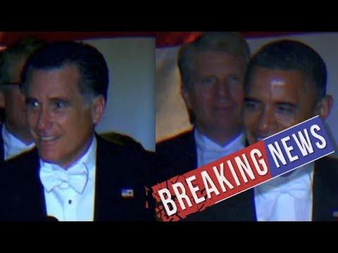 [Breaking News & Politics]Raw Video: See Mitt Romney's full Al Smith dinner speech