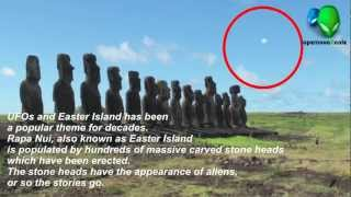Alien's UFO Visiting Easter Island - UFO Sightings 2012