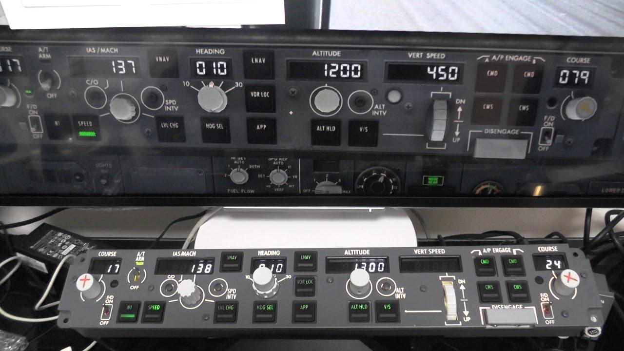 X-Plane11 CPFlight MCP737PRO接続:Blue Sky:So-netブログ