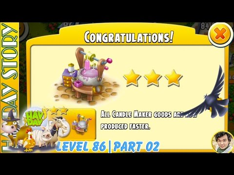 Candle Maker Get 3 Starts Now In Hay Day Level 86 | Part 02