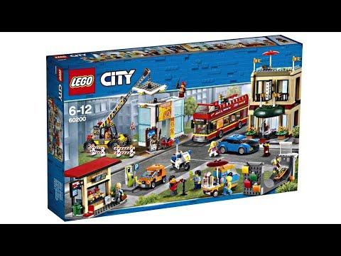 LEGO City Capital 2018 set - Surface Level Excitement :/