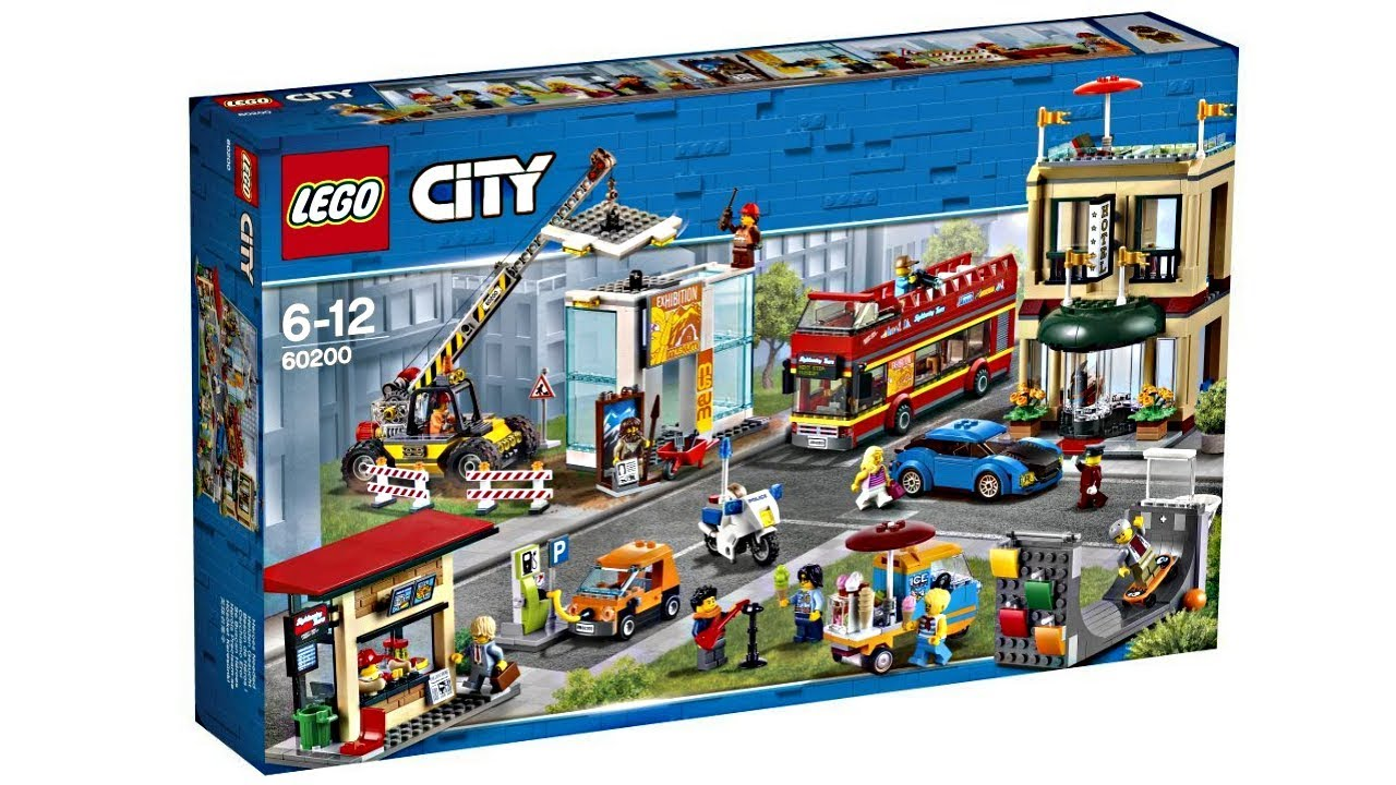 lego city capital 2018 set surface level excitement. Black Bedroom Furniture Sets. Home Design Ideas