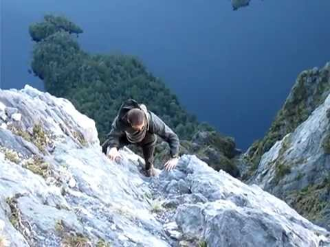 Federation peak - the exposed bit - YouTube