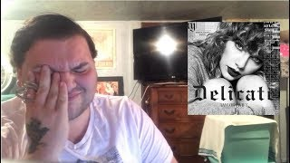 Taylor Swift - Delicate | REACTION