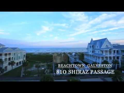 Beachtown Property Video Tour 810 Shiraz Passage Galveston Texas 77550