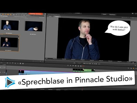 Sprechblase erstellen mit Pinnacle Studio 20 Deutsch Video Tutorial