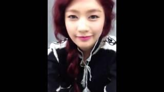 (Video) Jung So Min's 정소민 Video Greetings - KBS Drama BIG MAN 빅맨