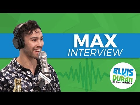 MAX Talks About Wiz Khalifa, Fall Out Boy and Upcoming Album | Elvis Duran Show