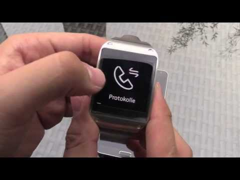 Samsung Galaxy Gear Smartwatch Unboxing and Hands On