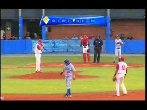 Italian Baseball Week 2010, Girone preliminare, Italia-Spagna