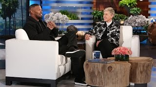 Jamie Foxx and Ellen Ring in the New Year!