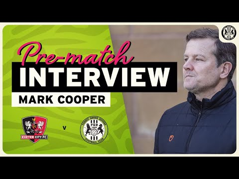 "PRE-MATCH | ""You have to deal with whatever's thrown at you,"" Cooper"
