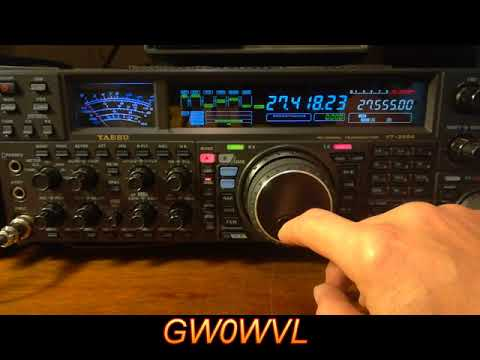 GW0WVL, Comparing A 5/8 Wave Vertical Against  A 3 Element Yagi Antenna.